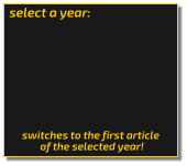 select a year: switches to the first article  of the selected year!